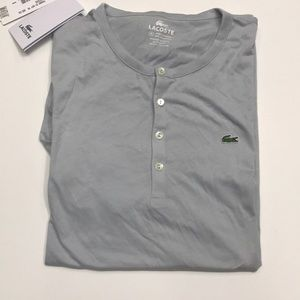 NWT Lacoste men's T-shirt xxl 8 gray